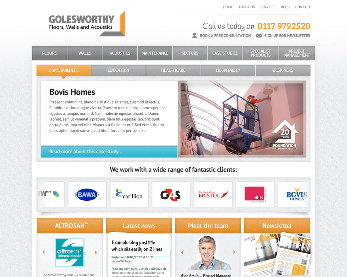 Golesworthy website