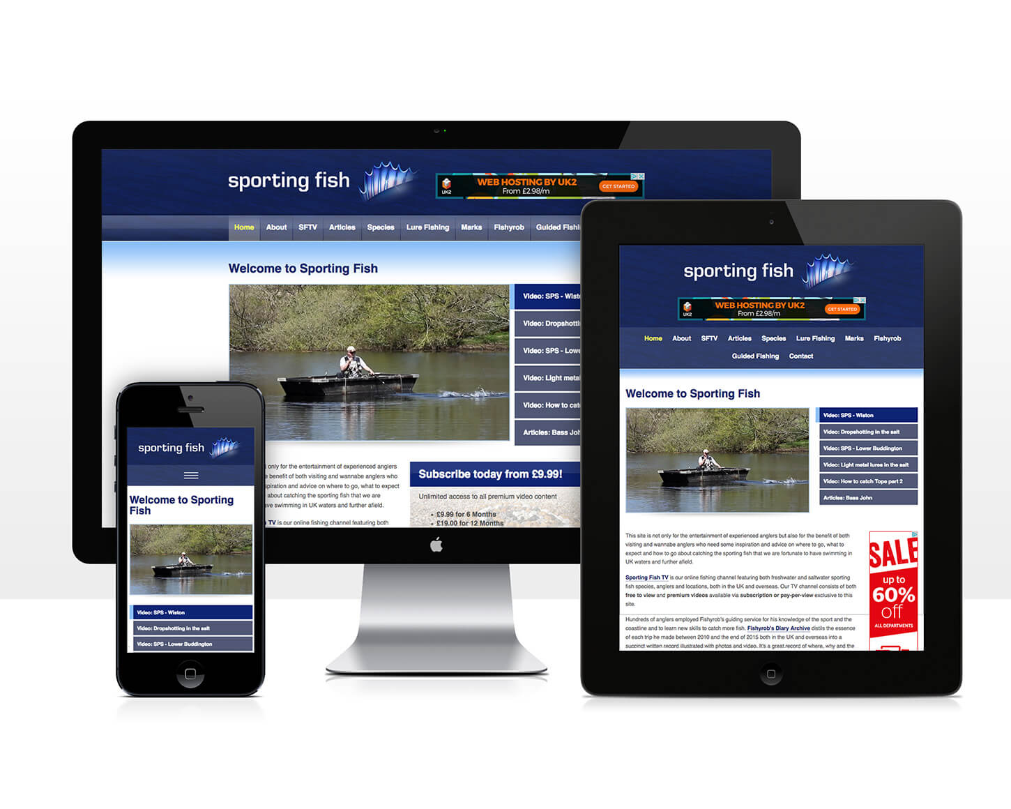 Sporting Fish website